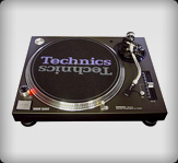 dj turntables hire